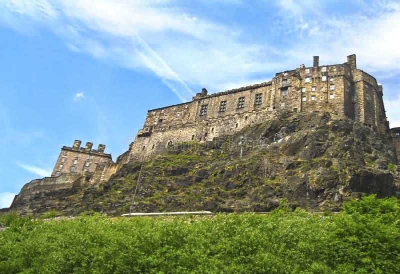 Castelo em Edimburgo Escócia fotos de stock royalty free
