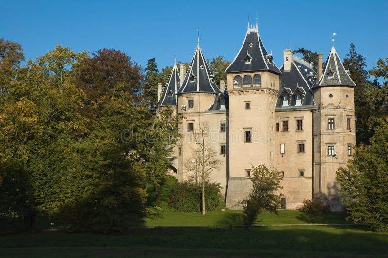 Castelo em Goluchow, Poland foto de stock royalty free