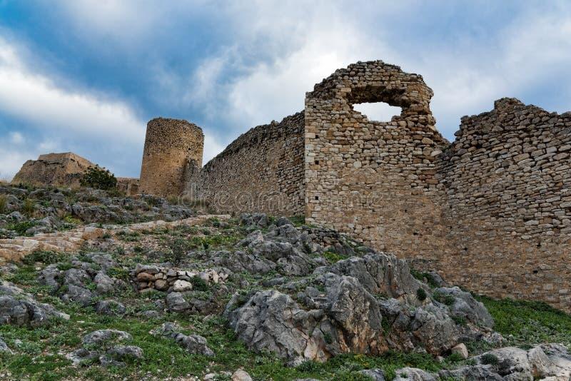Castelo em Greece imagem de stock