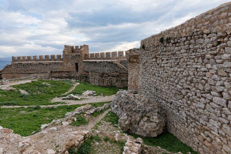 Castelo em Greece fotos de stock