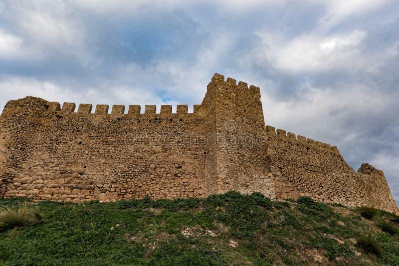 Castelo em Greece fotografia de stock