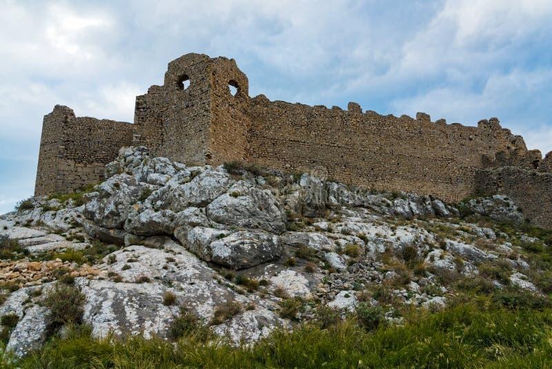 Castelo em Greece imagens de stock royalty free