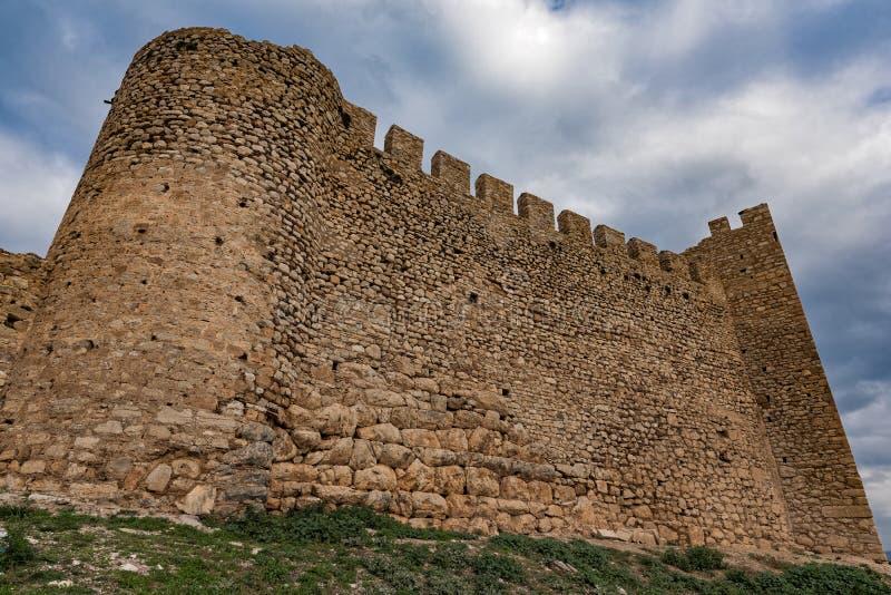 Castelo em Greece foto de stock