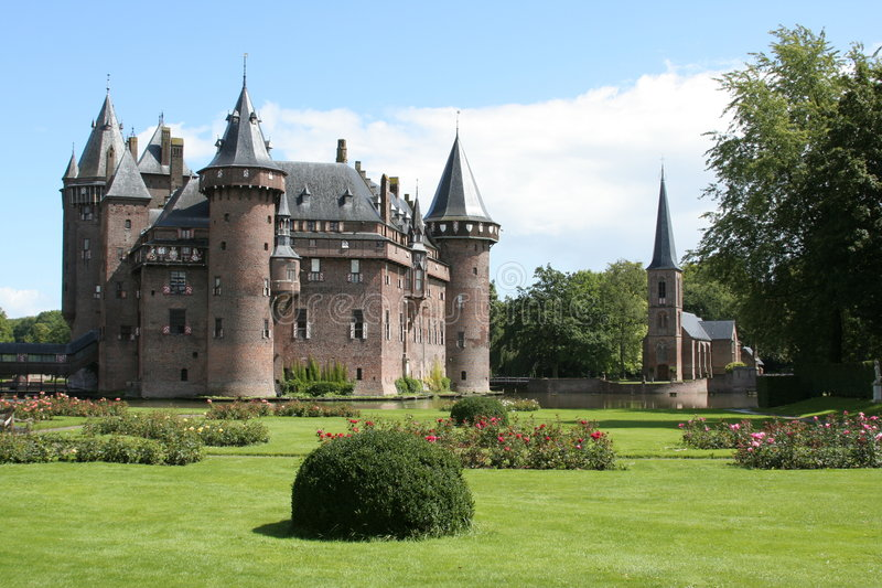 Castelo em Holland imagem de stock