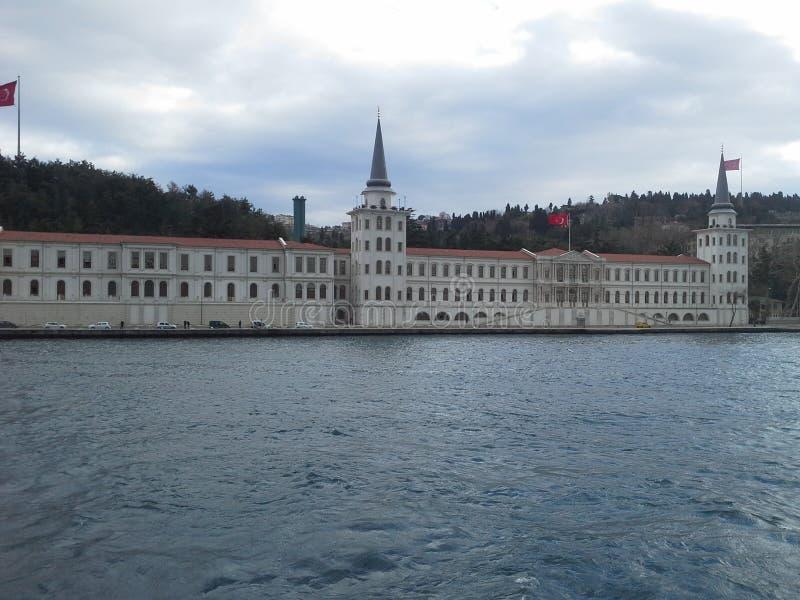 Castelo em Istambul Turquia durante a viagem foto de stock royalty free