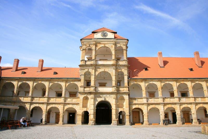 Castelo em Moravska Trebova, República Checa foto de stock royalty free