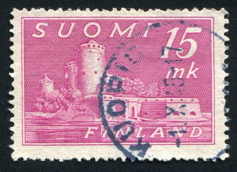 Castelo em Savonlinna foto de stock royalty free