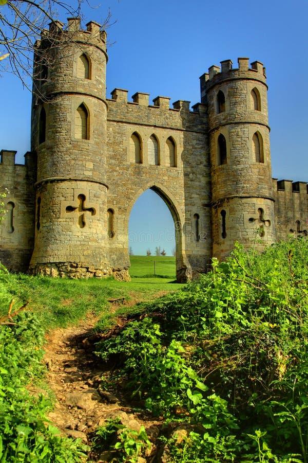 Castelo engodo fotos de stock royalty free