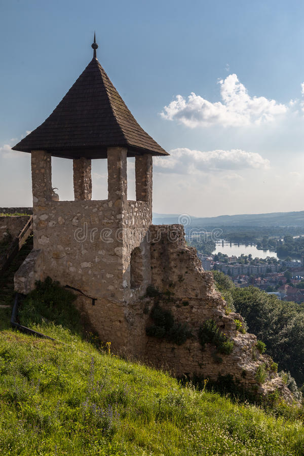 Castelo Eslováquia de Trencin fotos de stock