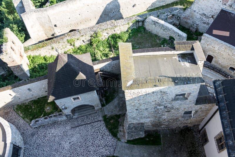 Castelo Eslováquia de Trencin imagens de stock