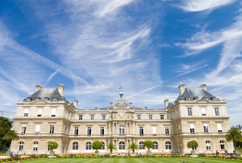 Castelo famoso de Paris imagens de stock royalty free