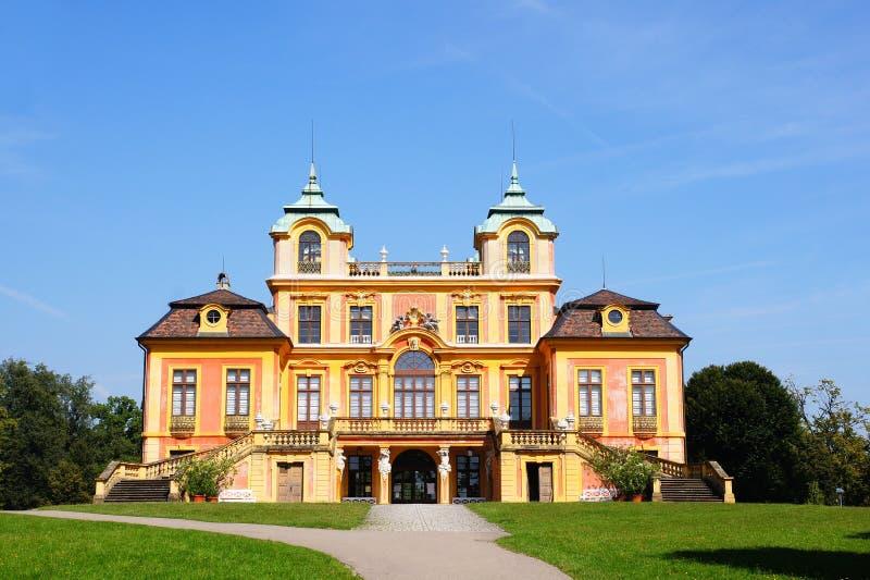 Castelo favorito no ludwigsburg imagens de stock royalty free