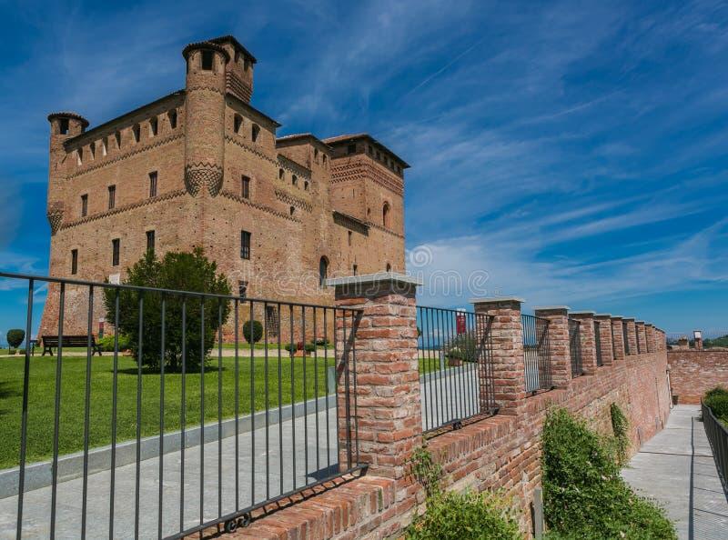 Castelo Fossano, imagens de stock