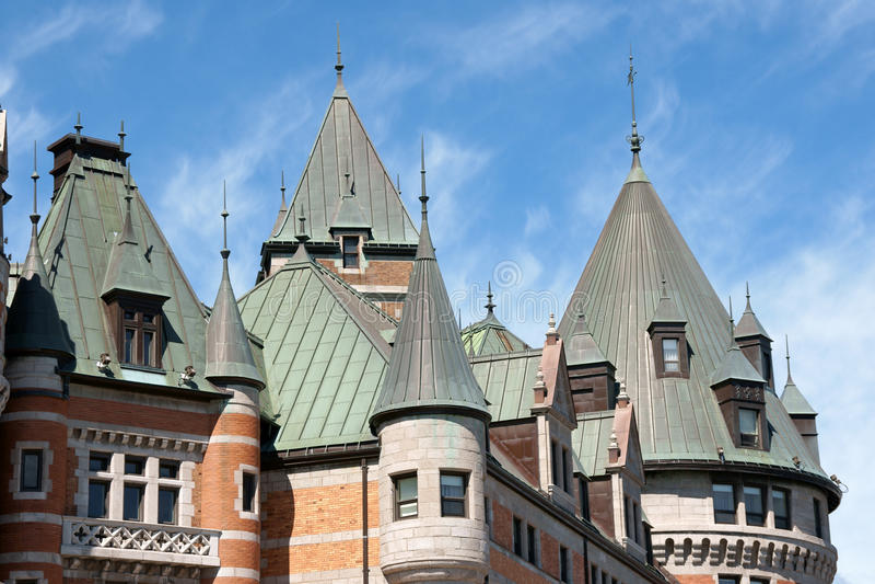 Castelo Frontenac em Quebec City imagem de stock royalty free