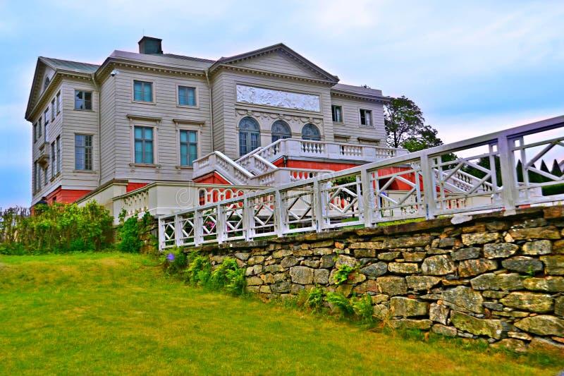 Castelo Gunnebo na Suécia imagens de stock royalty free