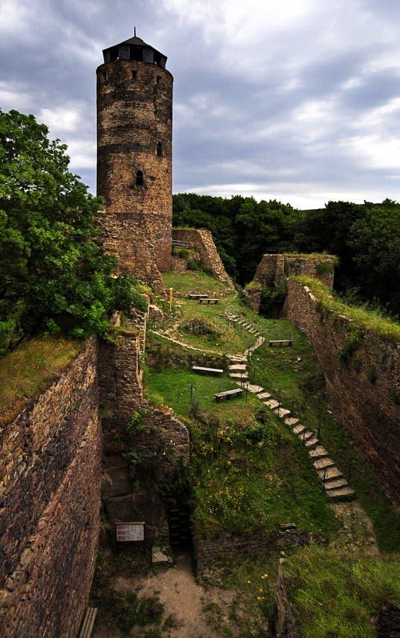 Castelo Hasistejn foto de stock