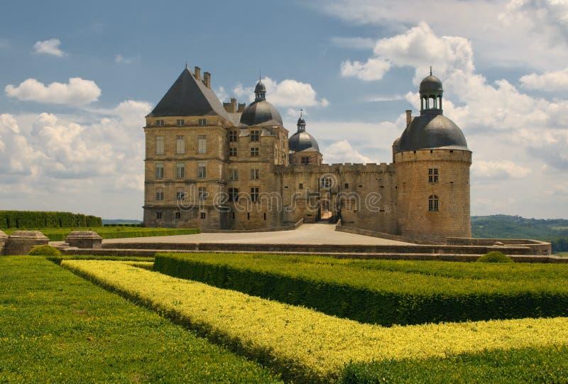 Castelo Hautefort, Dordogne, France foto de stock royalty free