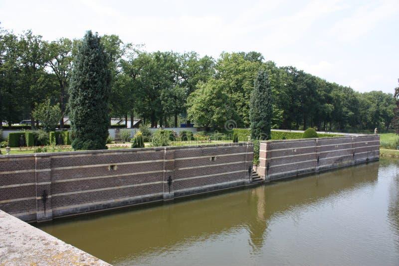 Castelo Heeswijk a Heeswijk Dinther imagens de stock