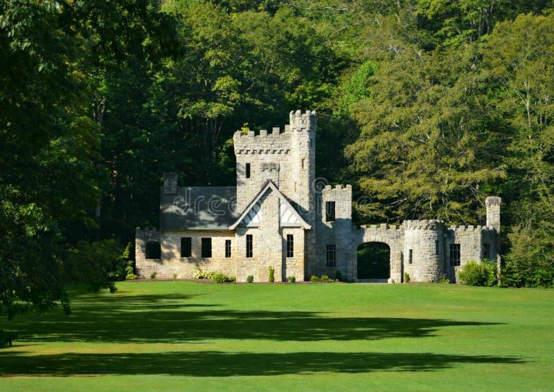 Castelo histórico Cleveland Metroparks Willoughby Hills Ohio dos latifundiários imagens de stock