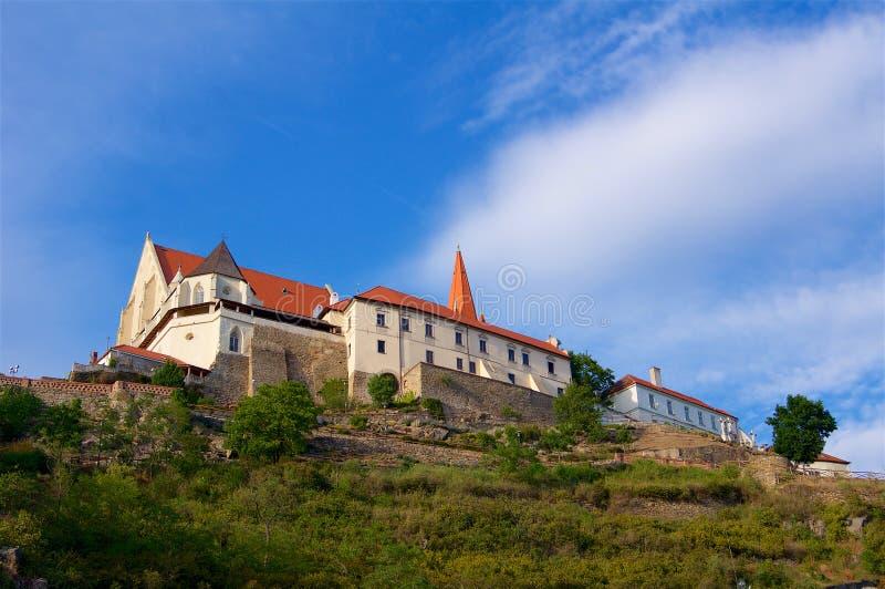 Castelo histórico Znojmo República Checa imagem de stock