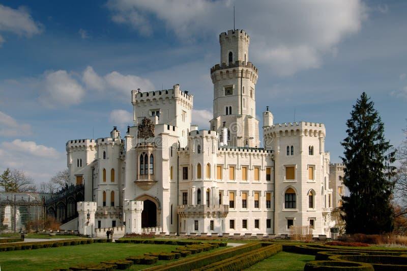 Castelo Hluboka imagem de stock royalty free