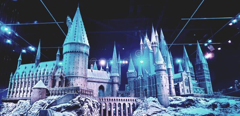Castelo Hogwarts Harry Potter foto de stock royalty free