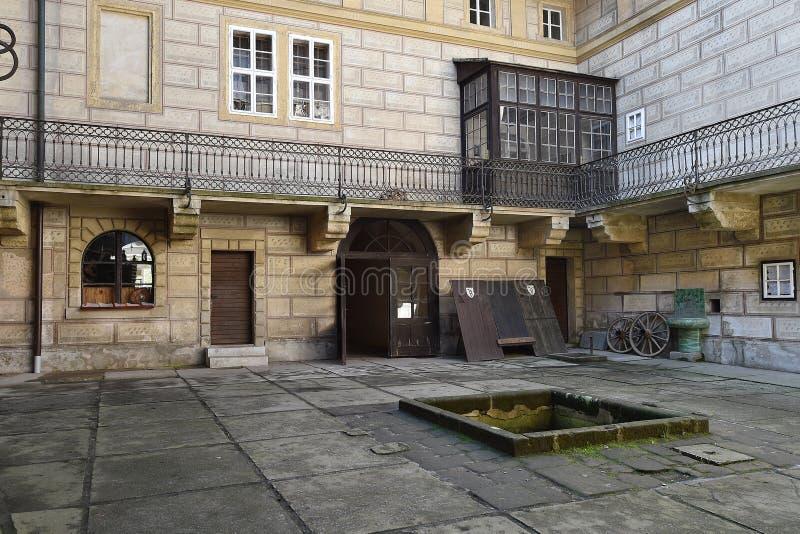Castelo Houska fotos de stock royalty free