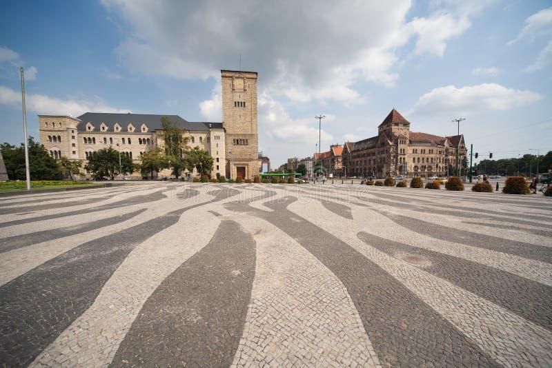 Download Castelo imperial em Poznan imagem de stock. Imagem de verão - 10051081
