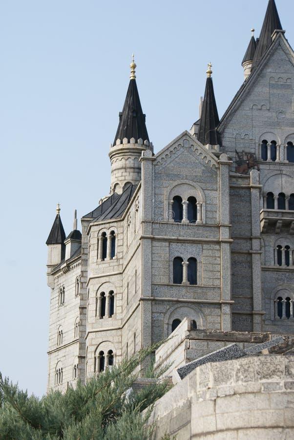 Castelo incomum no museu das miniaturas China fotos de stock