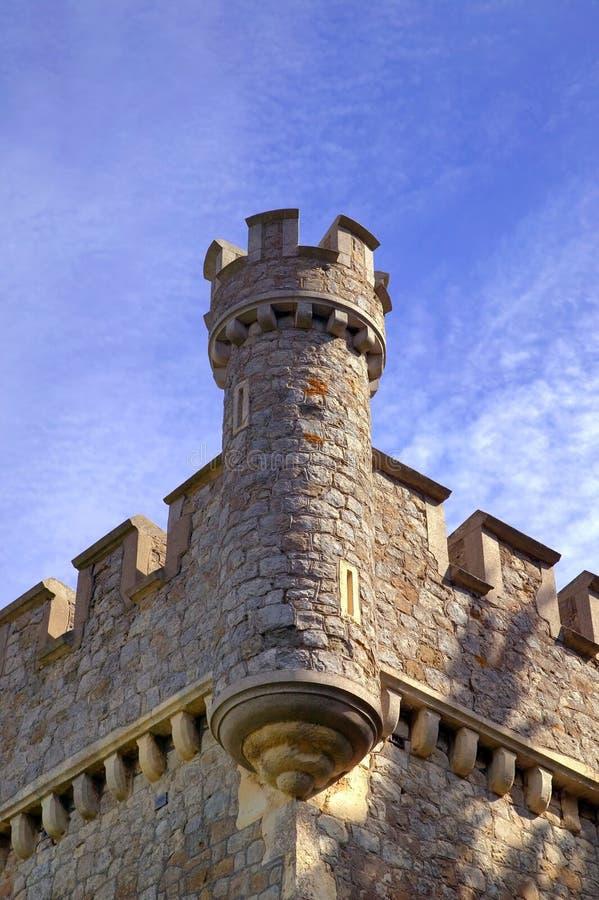Castelo inglês imagens de stock royalty free