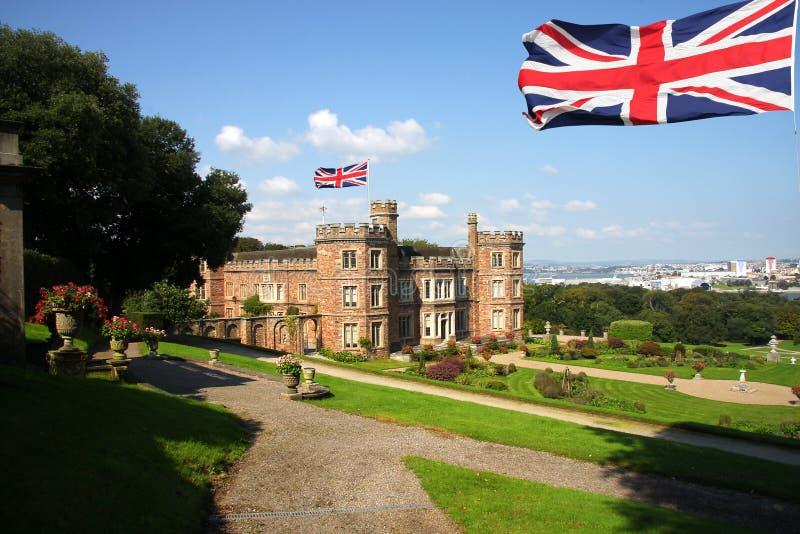 Castelo inglês, montagem Edgcumbe.Plymouth imagens de stock royalty free