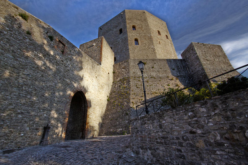 Castelo italiano fotografia de stock royalty free
