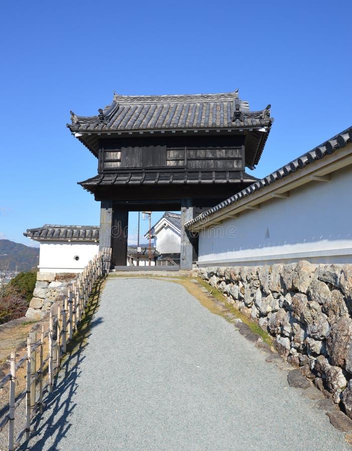 Castelo Japão de Kochi imagem de stock