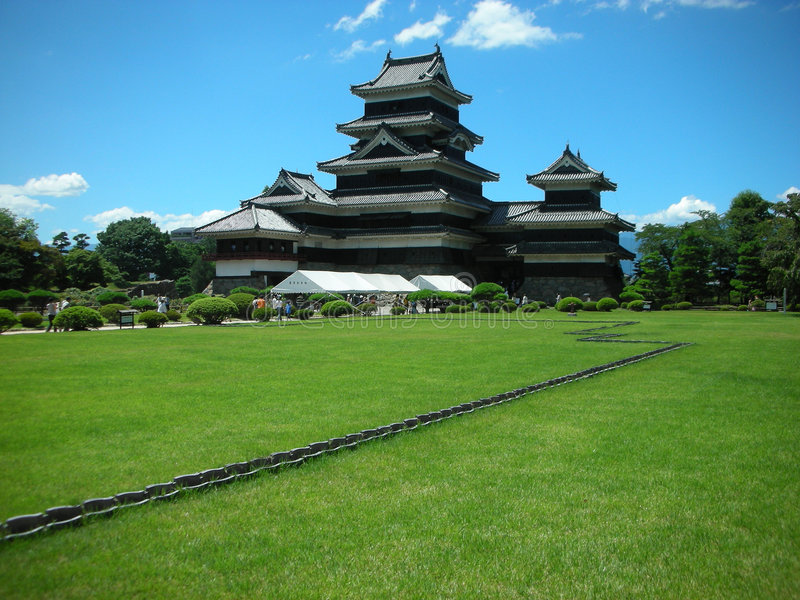 Castelo japonês fotos de stock