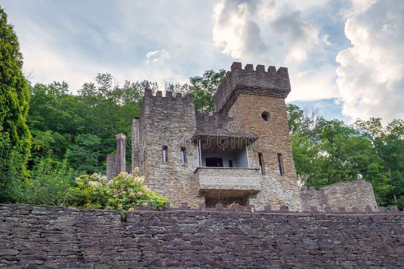 Castelo La Roche, o castelo de Loveland imagem de stock