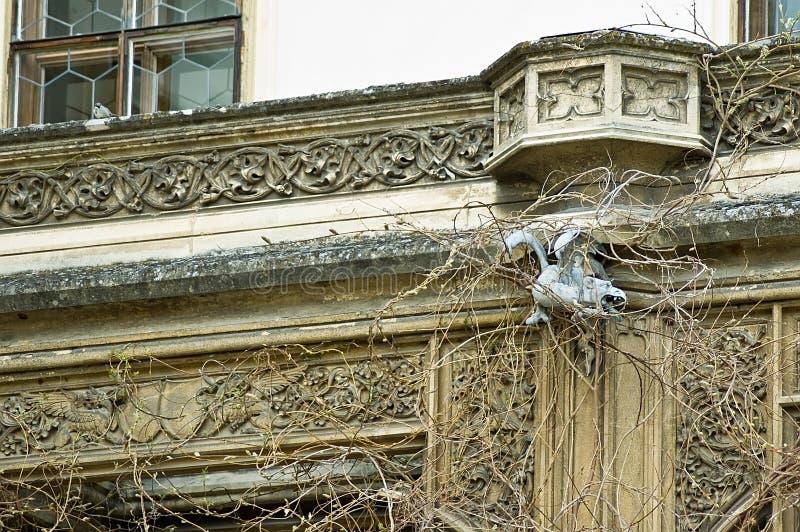 Castelo Lednice - cornice foto de stock royalty free
