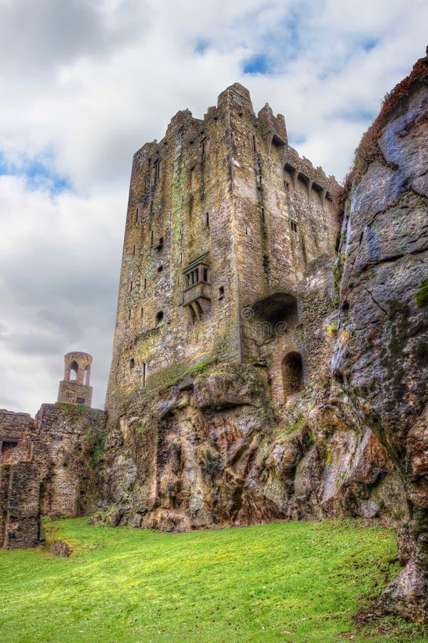 Castelo medieval do Blarney na cortiça do Co. - Ireland. fotografia de stock