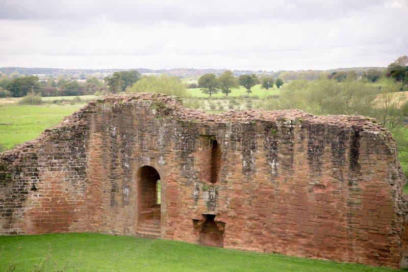 Castelo medieval do castelo Reino Unido de Kenilworth fotografia de stock royalty free