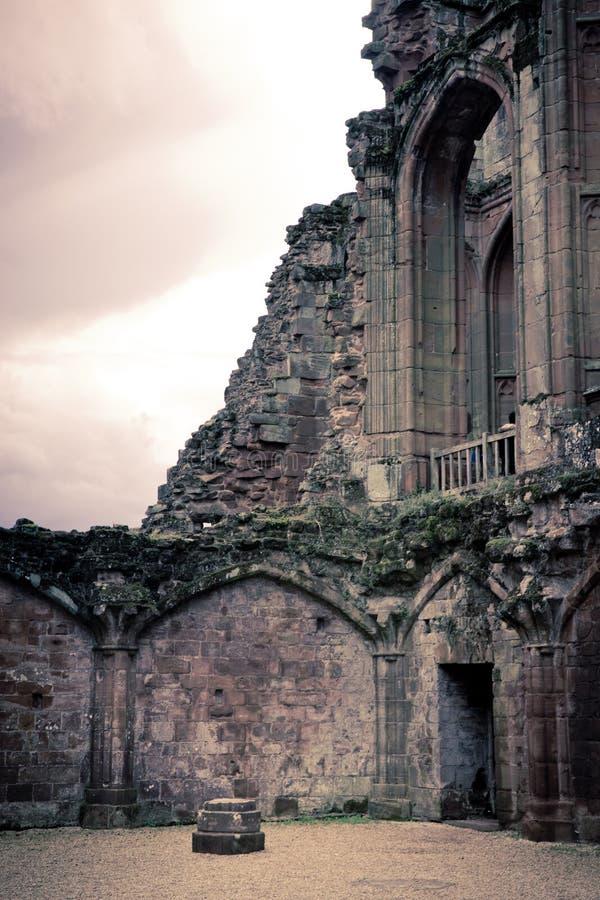 Castelo medieval do castelo Reino Unido de Kenilworth imagem de stock