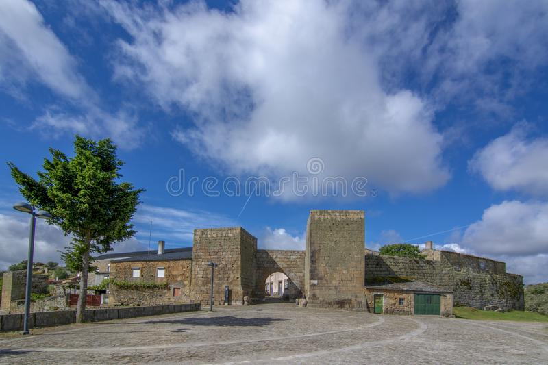 Castelo Mendo, historical village inte the district of Guarda. P stock images
