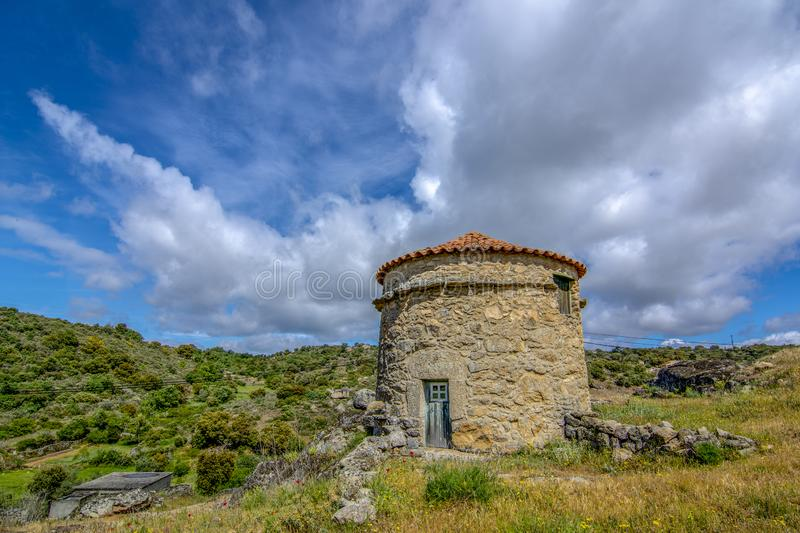Castelo Mendo, historical village inte the district of Guarda. P stock photography
