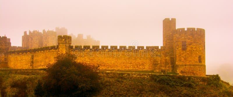 Castelo misterioso imagem de stock