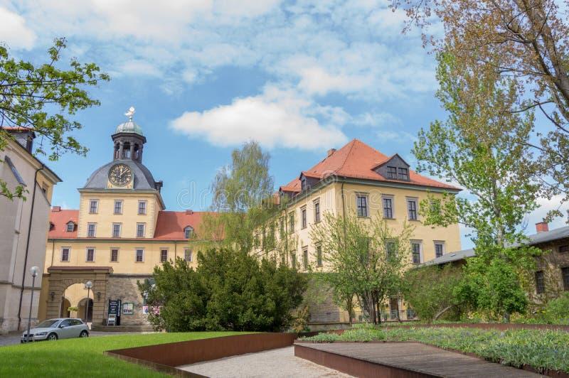 Castelo Moritzburg imagens de stock royalty free