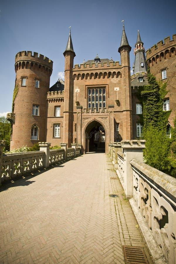 Castelo Moyland foto de stock royalty free