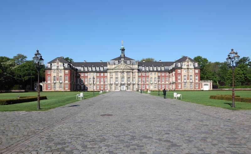 Castelo Munster, Alemanha imagem de stock royalty free
