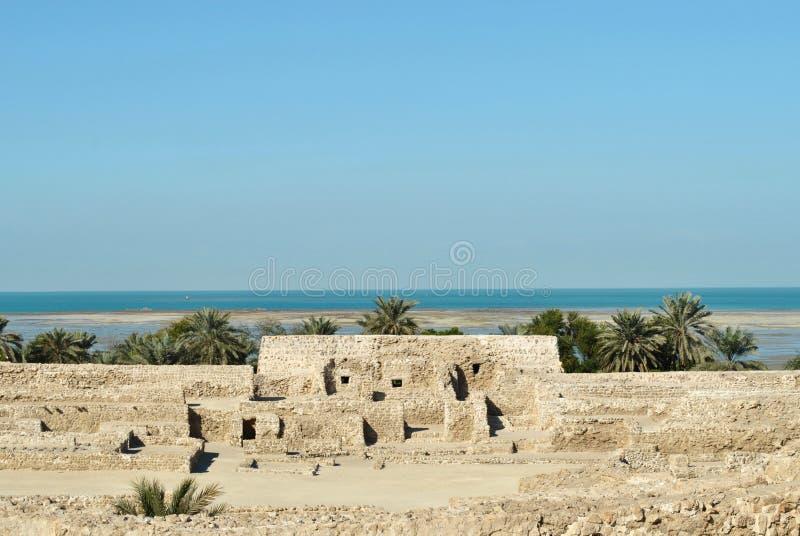 Castelo nacional de Barém fotos de stock royalty free
