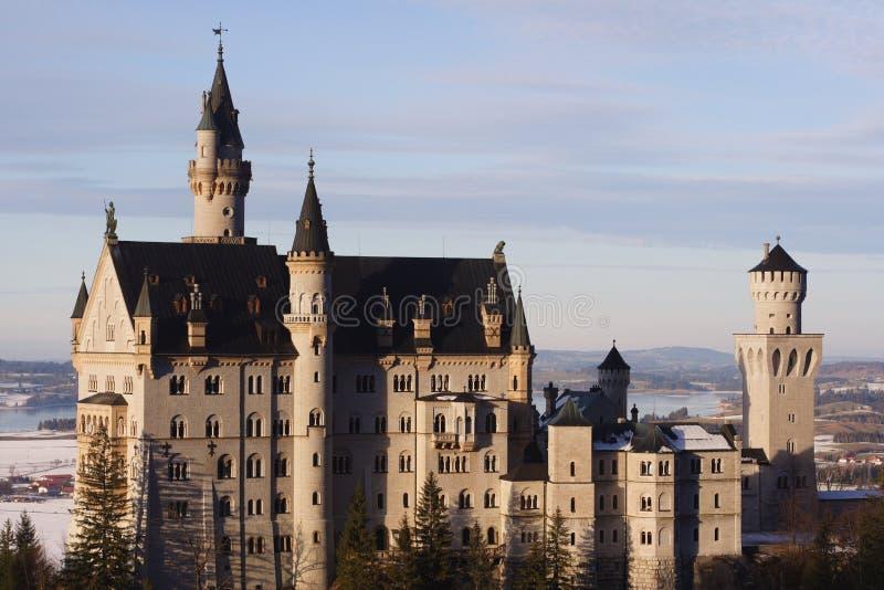 Castelo Neuschwanstein imagens de stock