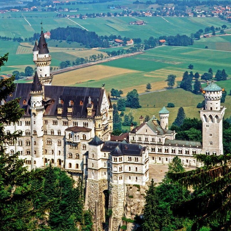 Castelo Neuschwanstein, Alemanha foto de stock royalty free