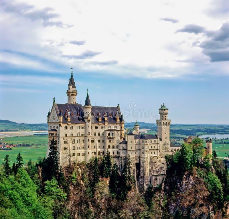 Castelo Neuschwanstein, Alemanha fotos de stock