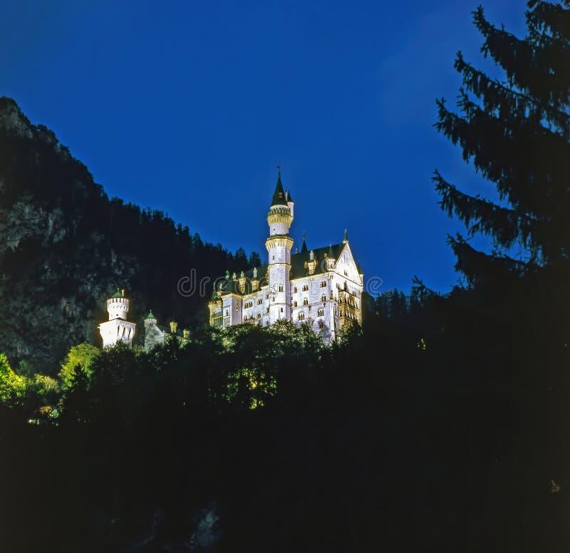 Castelo Neuschwanstein, Alemanha imagens de stock
